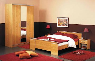 Desain kamar tidur nuansa klasik