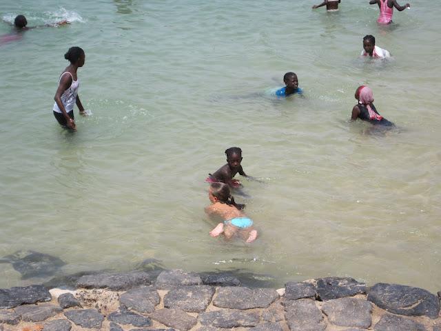 Playa de la Isla de Gorée