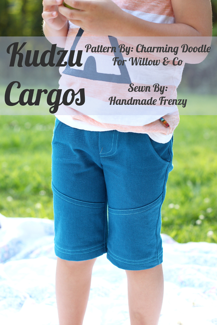 The Kudzu Cargos - A Willow & Co Pattern