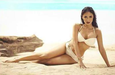 Heart Evangelista Tanduay 2014 Cover Girl