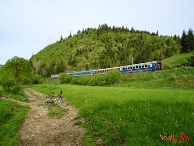Tren si Bicicleta