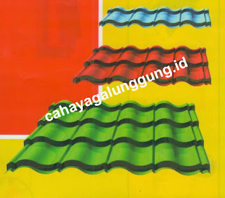 WARNA GENTENG METAL DIAMOND ROOF