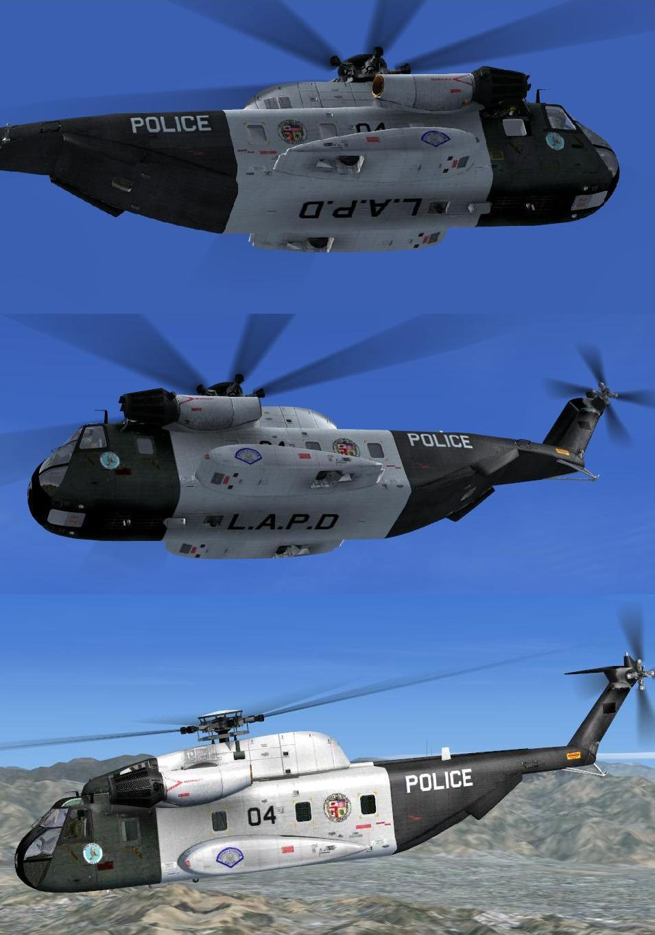 Elicottero 007 : Hangar of mib