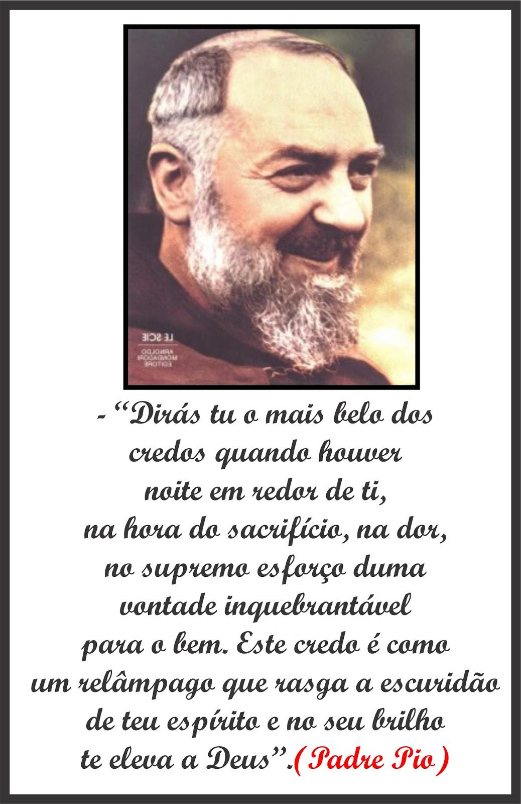 Blog Do Anobelino Uma Frase De São Pe Pio