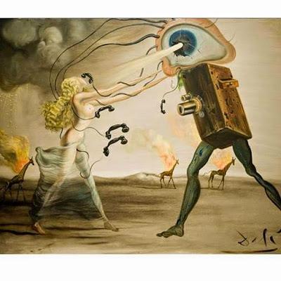 Modern Rhapsody – The Seven Arts, 1957 (Salvador Dali)