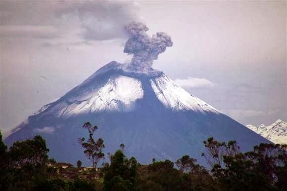 Escalada en el Volcán Tungurahua