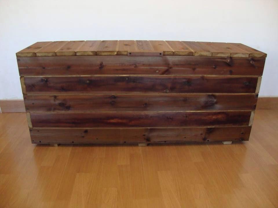 Baules de madera - Baules de exterior ...