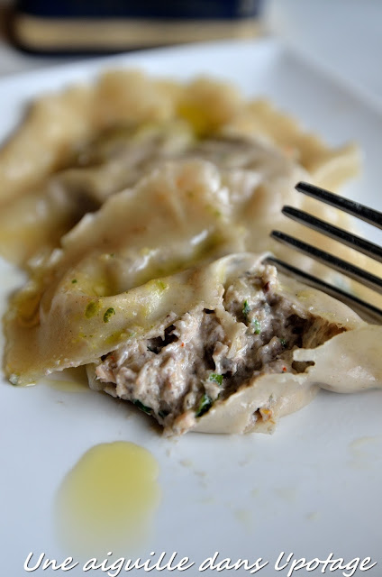 ravioli won ton sardine st Moret