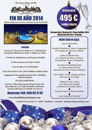 OFERTA FIN DE AÑO 2014-2015