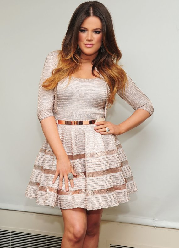 Kris Jenner Alaia Dress Reality star Khloe Kardashian