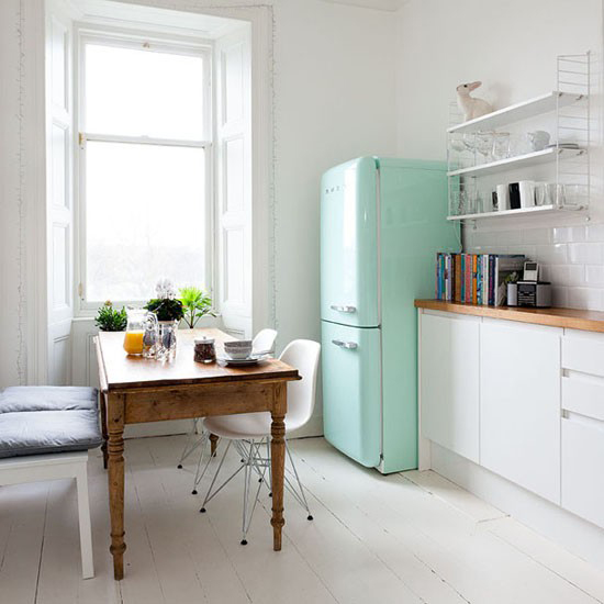 Teal Kitchen Cabinets On Pinterest: Turquoise Accents In The Kitchen