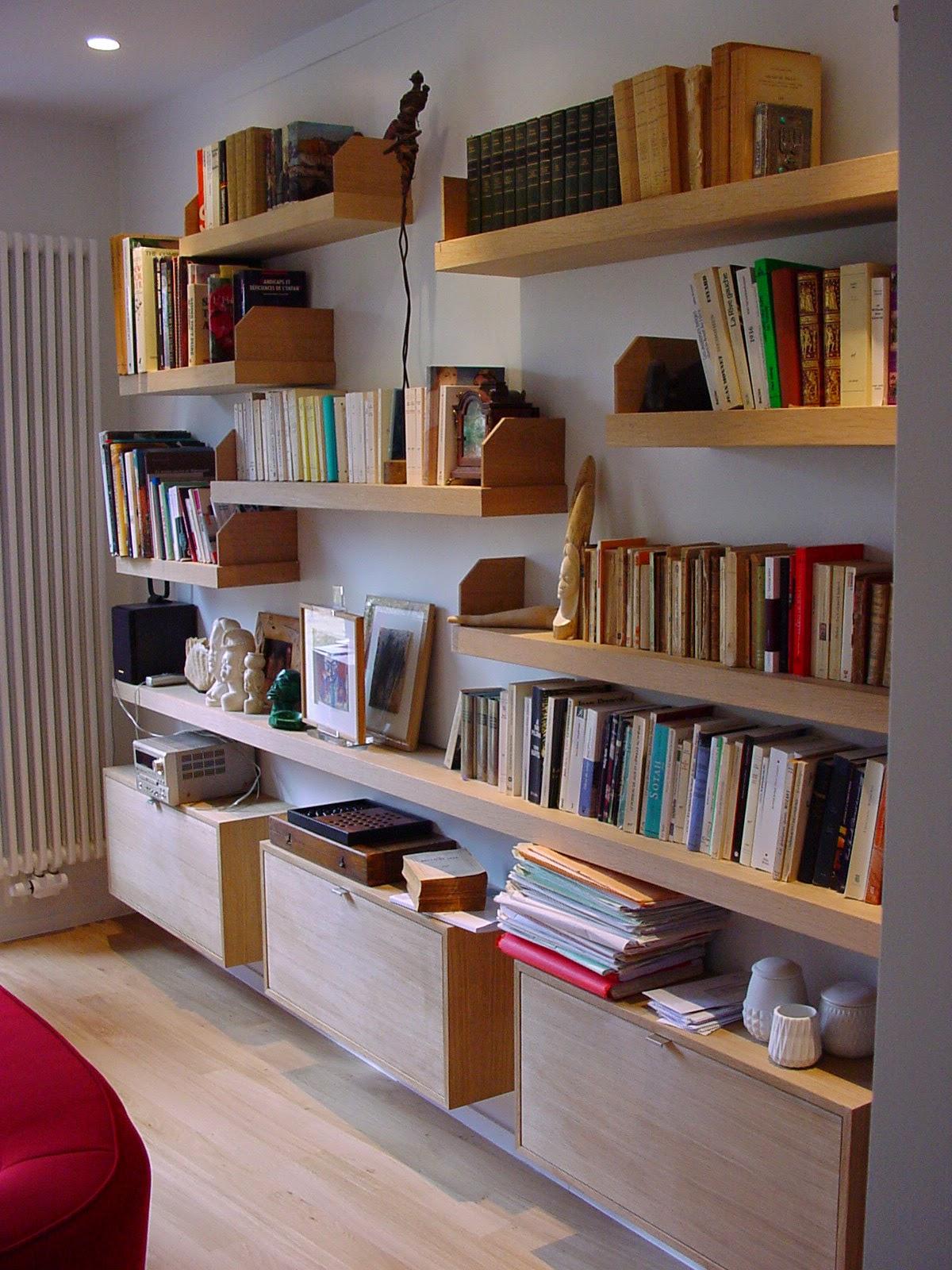 bois formes espaces biblioth que contemporaine contemporary bookcase. Black Bedroom Furniture Sets. Home Design Ideas