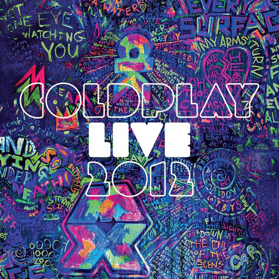 CD Live  Coldplay 8