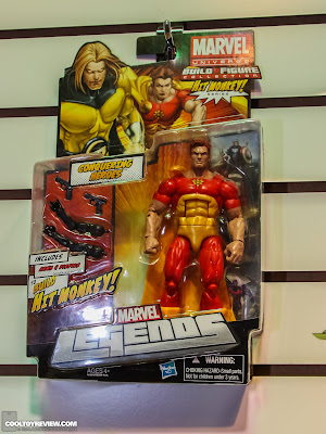 Hasbro 2013 Toy Fair Display Pictures - Marvel Legends - Conquering Heores carded