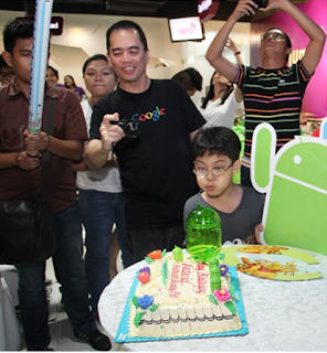 Happy Fifth Birthday Android