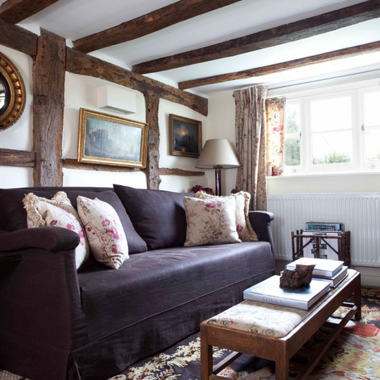 cosy country living room - Cosy Living Room Designs