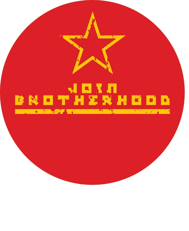 brotherhoods badge  art made