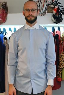 Satriano Cinque: bespoke shirt, Naples