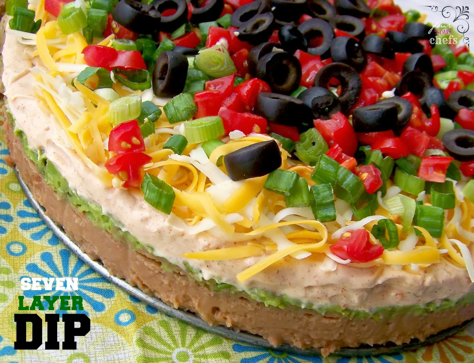 dip class i c from a can 7 layer dip seven layer cook i es seven layer ...