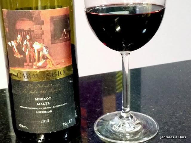Vinho Tinto Caravaggio 2013