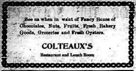 Colteaux's 1917 Ad
