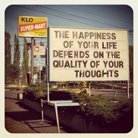 The Happiness of your life depends on the quality of your thoughts - Quote by Marcus Aurelius