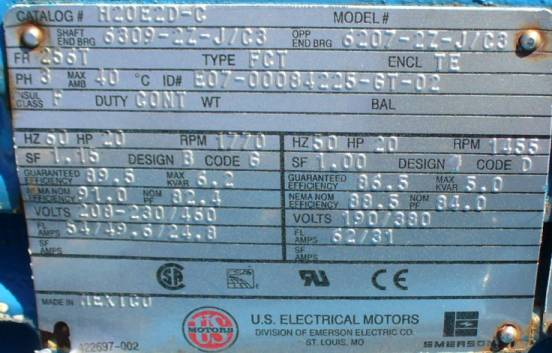 3 Phase Motor Power Calculation Formula furthermore 19 Essential Information You Can Find On Motor Nameplate in addition 3 Phase Squirrel Cage Induction Motor Diagram furthermore Induction Motor Nameplate Data likewise Iec Motor Nameplate. on understanding a single phase electric motor nameplate