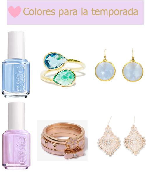 accesorios y esmaltes