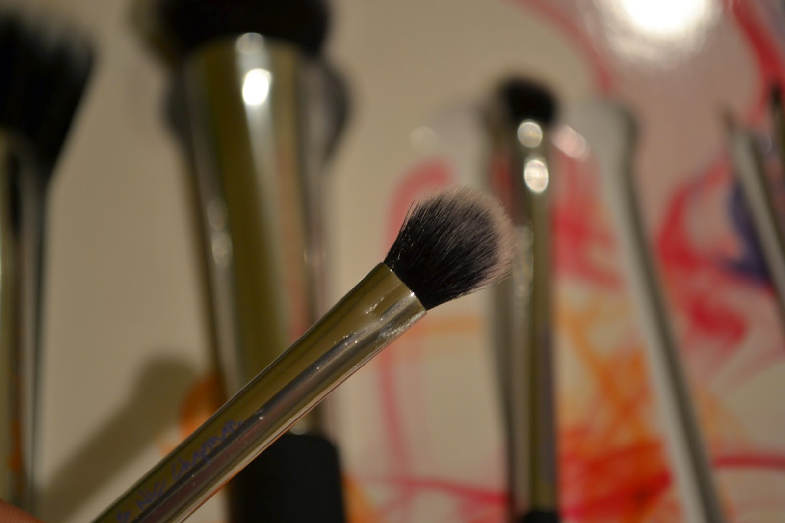 Real Techniques Nic's Picks Brush set - base shadow brush