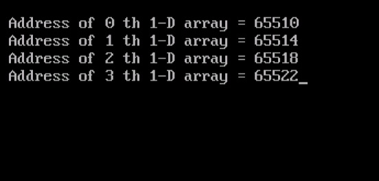 2D Arrays with Pointers