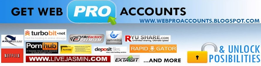 Web Premium Accounts - Everyday Updated Premium Accounts
