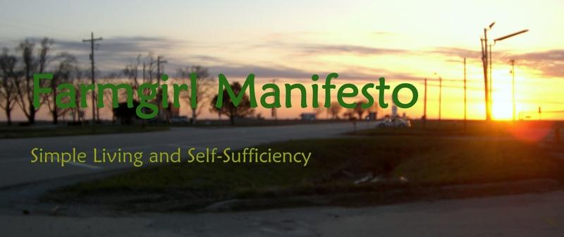 Farmgirl Manifesto