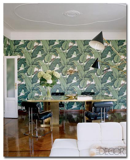martinique banana leaf wallpaper nz