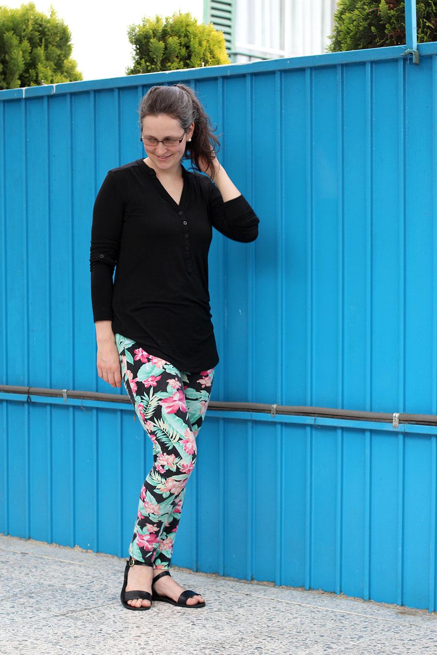 pretty spring outfit julie claveau