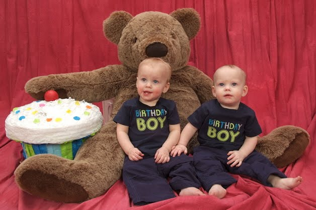 My Twins First Birthday