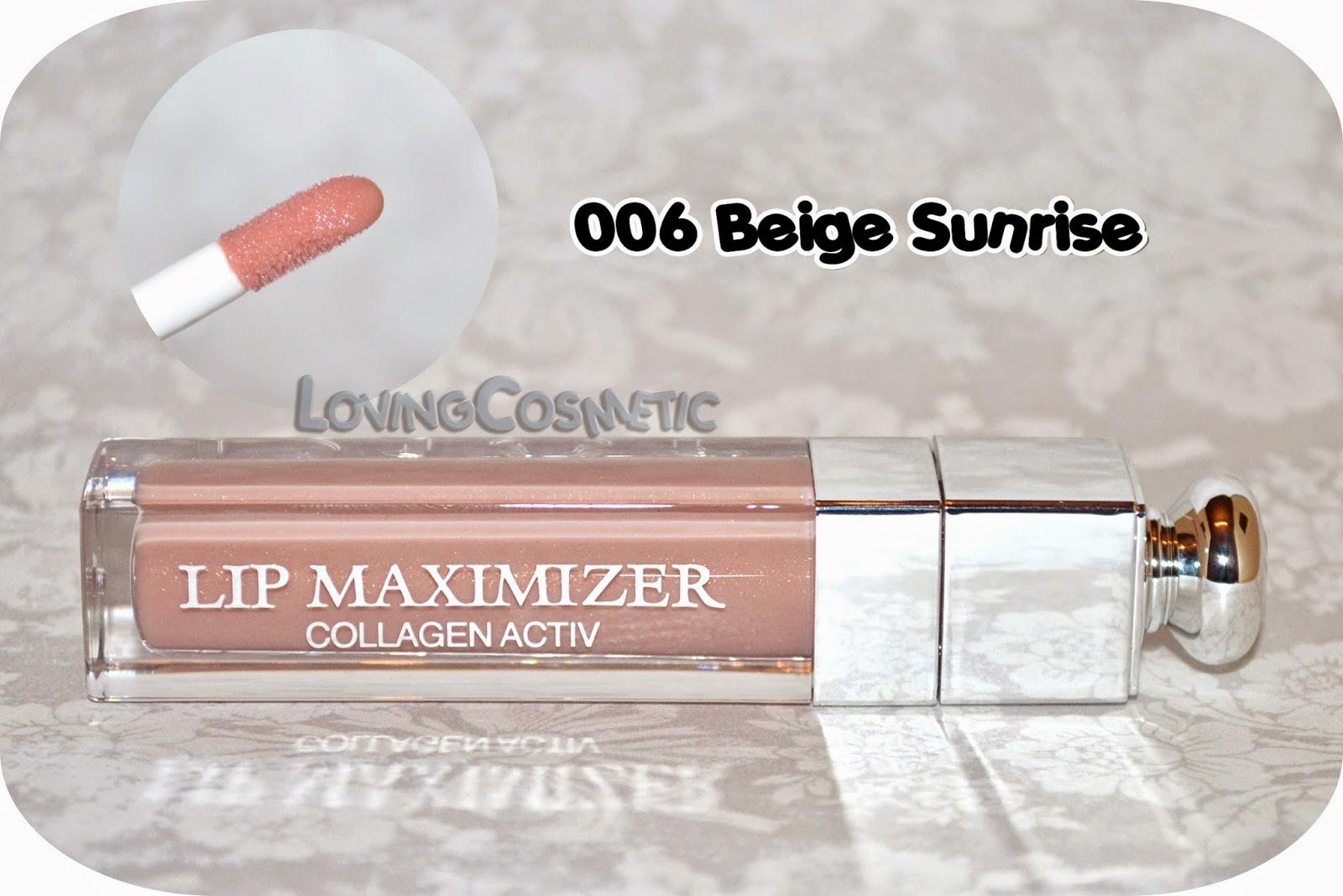 Dior Tie & Dye coleccion collection 2015 summer verano swatch swatches lip maximizer collagen activ 006 beige sunrise