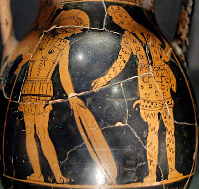 Diomedes and Glaucus