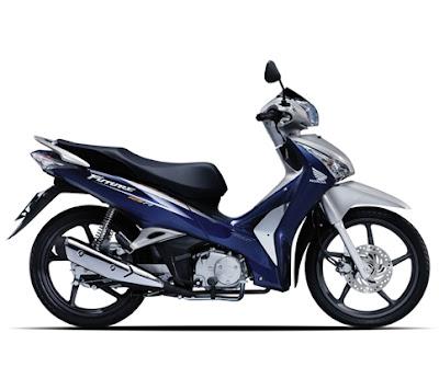 Honda Future 2012 - Xanh Bạc Đen