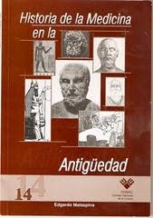 LIBRO NRO 10. HISTORIA DE LA MEDICINA EN LA ANTIGUEDAD