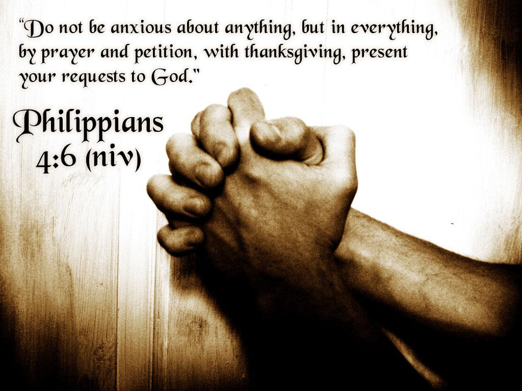 Archaen Ministries: Philippians 4:6-7