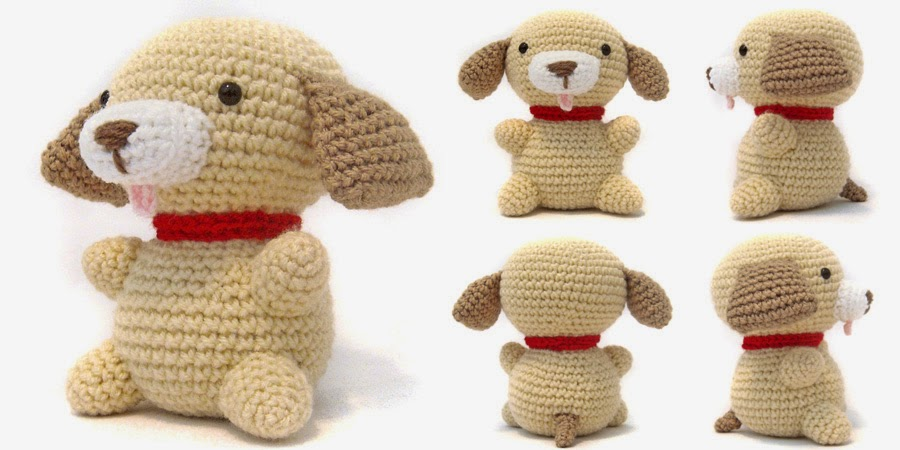 Diy Amigurumi Animals : i crochet things: Free Pattern Friday: Puppy Amigurumi