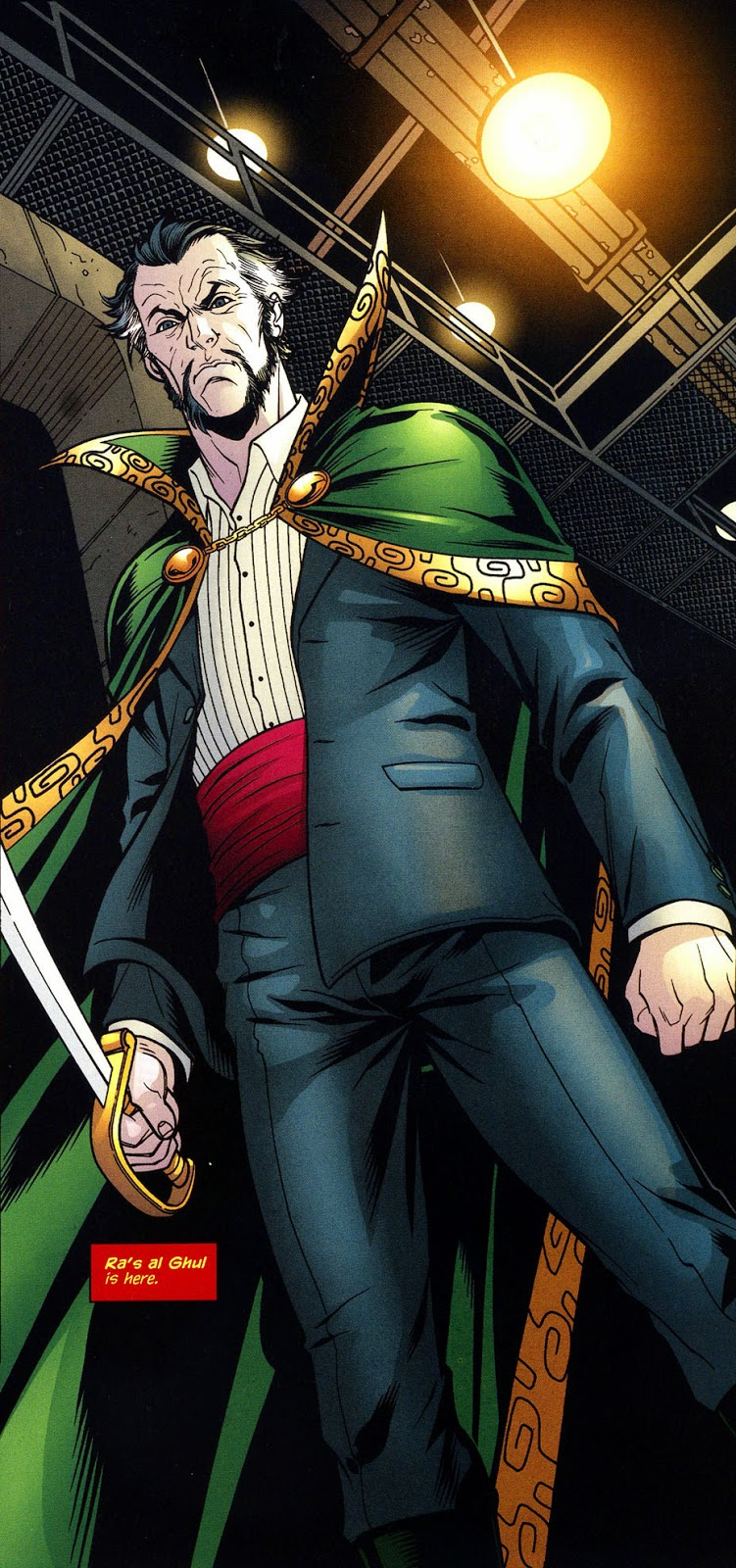 ras al ghul comic books
