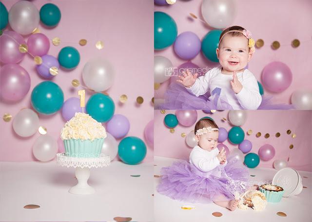 Baby Cake Smash Backdrop