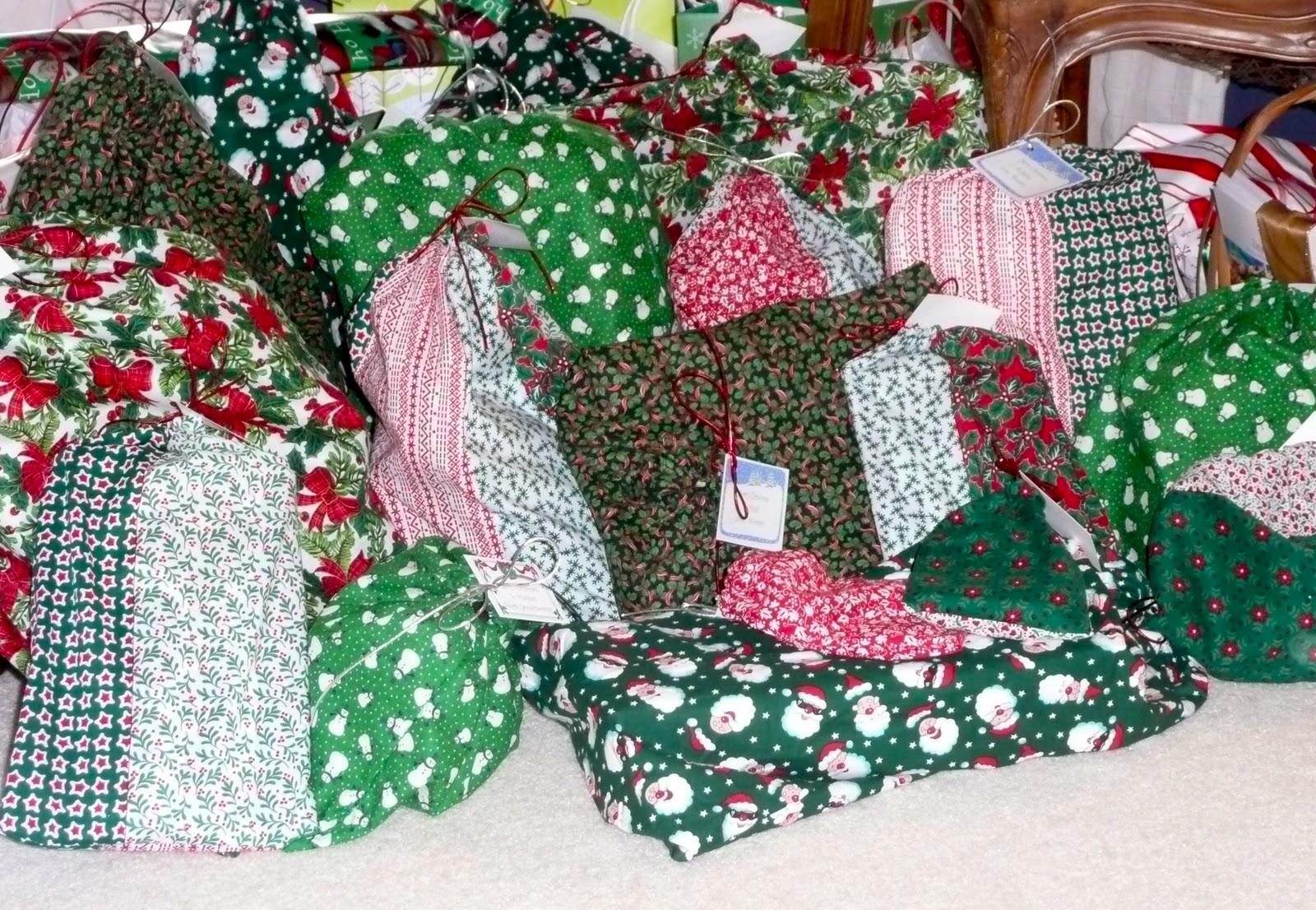 The Craft Tutor: Make Reusable Fabric Gift Bags