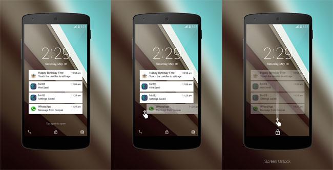 Android L LockScreen para Android