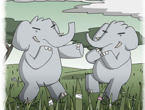 Artista faz ilustrações sobre ditados populares ao redor do mundo