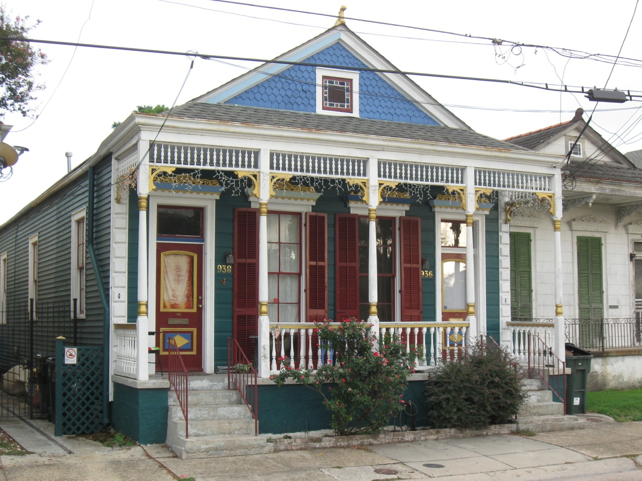L 39 archivista the french quarter and the faubourg st john for Shotgun home designs