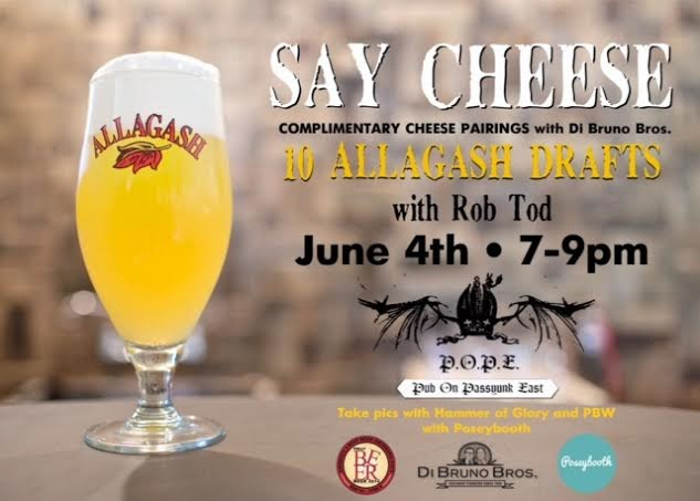 Philly Beer Week at the POPE