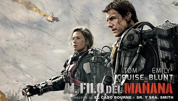 Al Filo del Mañana con Tom Cruise y Emily Blunt
