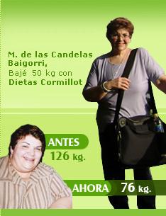 bajar 50 kilos 126 kilos 76 kilos cormillot antes y despues